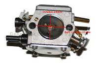 Chainsaw Husqvarna 362 365 371 372 Engine Motor Carburetor Carb
