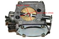 Chainsaw Husqvarna 61 266 268 272 Engine Motor Carburetor Carb
