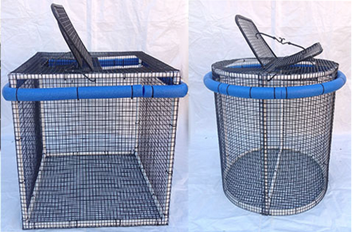 Collapsible Bait Pen 3x3x3 Round