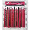 Alfa Tools 12PC. BRIGHT MASONRY DRILL DISPLAY