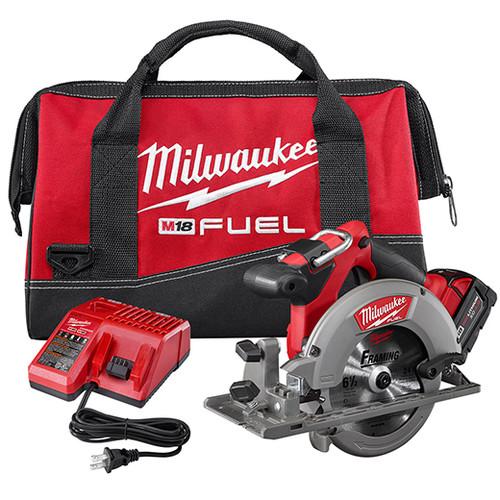 Milwaukee M18™ FUEL™ 6 1/2 CIRC SAW 1 BAT KIT