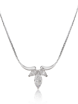 Spring Petals Elegant Necklace 44118