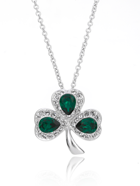 Linda's Luck Clover Pendant Necklace 35086