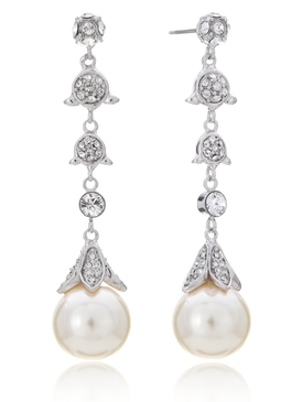 Cosette Petal Pearl Earrings 21484