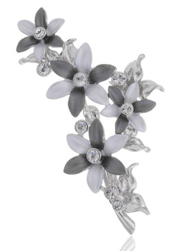 Blossom Crystal Floral Brooch  | Brooches