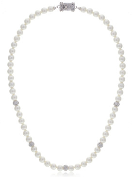 Sarah's Single-Strand Pearl Necklace  | Necklaces