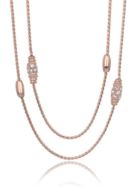 Rae's Long Chain Crystal Necklace 44841