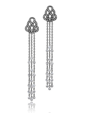 Rio's Crystal Lariat Earrings 32377