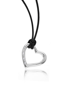 Juliet's Crystal Heart Pendant  | Pendants