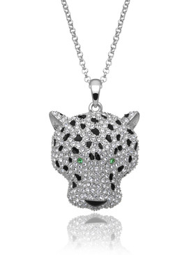 Crystal Cheetah Pendant, Wholesale Fine Fashion Jewelry & Special Occasion Accessories | Shop JGI Jewelry