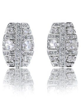 Wholesale CZ Earring, 32447