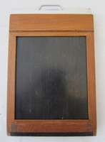 1927 Folmer Graflex Glass Lantern Slide Holder 3-1/4 x 4 w/Dark Slides