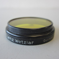 Leica Leitz FIGAM A36 36mm Slip-on Yellow 2 Lens Filter