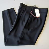Stella McCartney CHARLOTTE Black Dress Pants Slacks Trousers EU 40