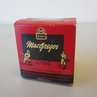 Vintage New Old Stock Sealed MacGregor Official Little League Baseball B76C NOS