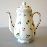 Villeroy & Boch Petite Fleur Coffee Pot w/Lid