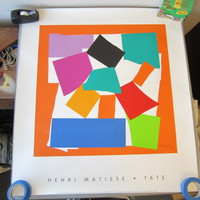 Tate Gallery Print Henri Matisse L'Escargot The Snail Heavy Paper Never Framed