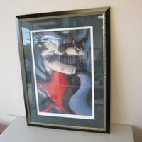 Ltd. Edition Warner Bros. Scott Seeto Pepe Le Pew KITTY IN RED Framed #213/250