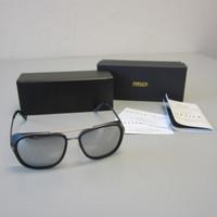 Matsuda M3023 Ti-P 3023 Silver/Matte Black Sunglasses Iron Man 57-16-145