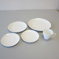 5-Pc Place Setting Rosenthal ROMANCE White China Bjorn Wiinblad