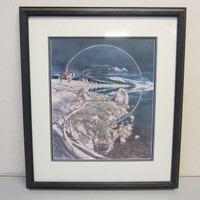 Pencil-Signed Numbered Print Bev Doolittle THE SENTINEL #28,446/35,000 Framed