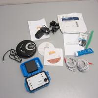 JW Labs Rife Machine Tactio Model A 3.2 w/Accessories CD Player EUC