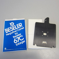 Beseler #6732 Negative Carrier 110 Film for 67C Series Enlargers NOS