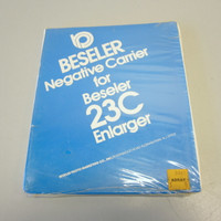 Beseler #8113 Negative Carrier Instamatic 110 Film for 23C Series Enlargers NOS