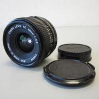Canon FD 28mm f/2.8 Wide Angle Lens w/Caps