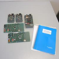 5 Motorola Evaluation Circuit Boards M68EVB912BC32 DG128 EVB912DP256 w/Manual