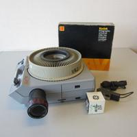Kodak Ektagraphic III AM 2x2 35mm Carousel Slide Projector w/Zoom Lens