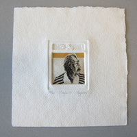 Pencil-Signed Dale Rayburn Aquatint Etching CAJUN #48/65 Unframed