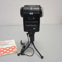 Vivitar 285 HV Zoom Thyristor Auto Electronic Flash w/Slave Attachment & Tripod
