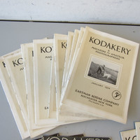 Lot 66 Issues Vintage Antique Kodak Kodakery Magazines 1916-1932
