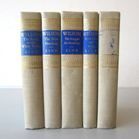 5-Volume Set Woodrow Wilson Biography Arthur Link Princeton Hardcover 1965