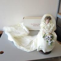 Danbury Mint 1987 Princess Diana Doll Bride Royal Wedding Dress OB