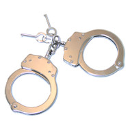 Silver Handcuffs Double Lock