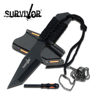 Survivor - Knife w/ Fire Starter