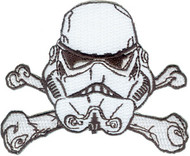 Patch - Star Wars - Storm Trooper - Bone