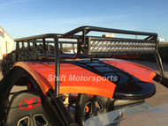 "Renli Buggy Roof Rack and 22"" Curved LED Light Bar"
