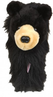 DAPHNE'S BLACK BEAR DRIVER HEADCOVER