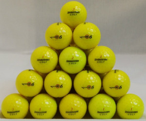 Bridgestone E6 Yellow Golf Balls
