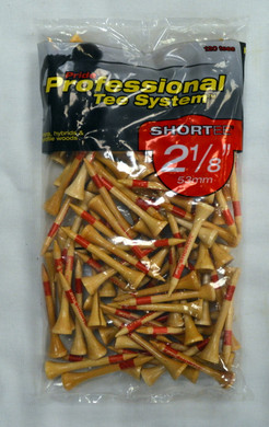 "Pride Professional Tee Shortee 2 1/8"" - Natural"