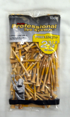 "Pride Professional Tee ProLength 2 3/4"" - Natural"
