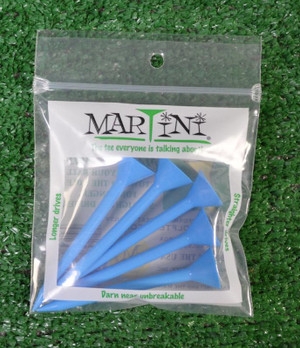 "Martini 3 1/4"" Blue Golf Tees"