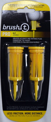 "Brush T Extreme 3 1/8"" Golf Tees - Yellow"