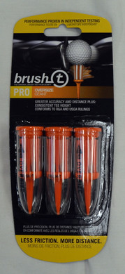 "Brush T Extreme 2 2/5"" Golf Tees - Orange"