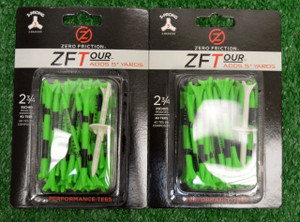 "Zero Fiction ZFTour 3 Prong Citrus Green Golf Tees 2 3/4"" (ZT10007)"