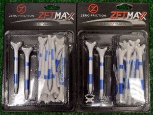 "Zero Fiction ZFVictory Maxx 4 Prong White Golf Tees 2 3/4"" (ZX15005)"