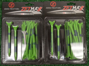 "Zero Fiction ZFT Maxx 4 Prong Green Golf Tees 3 1/4"" (ZX25006)"